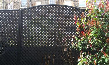trellis fence installed central London